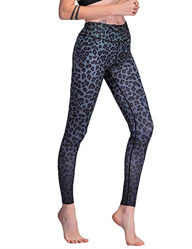 Hioinieiy Womens Printed High Waisted Yoga Pants Women's Fabletics Workout Tummy Control Patterned Compression Leggings for Women Colorful L