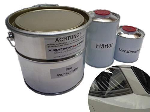 Lackpoint - Juego de Pintura para Coche (1,75 L, 2 componentes, para Skoda...