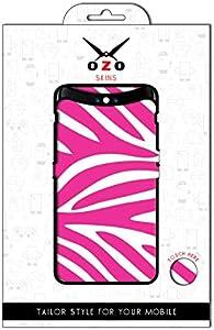 لاصقة حماية من اوزو بشكل الحمار الوحشي بلون الوردي لموبايل Huawei Nova 5T
