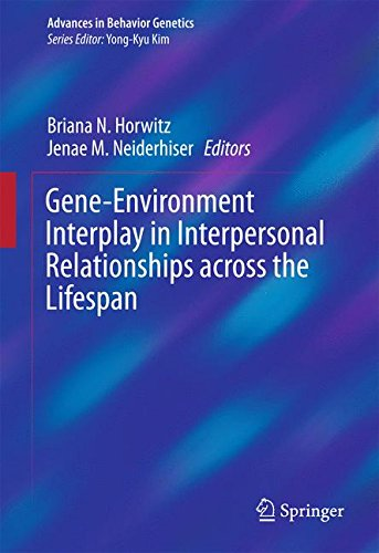 Download Gene-Environment Interplay in Interpersonal Relationships across the Lifespan (Advances in Behavior Genetics) 1493929224