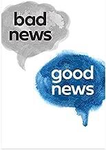 Bad News, Good News (Gospel Tract, Packet of 100, NKJV)