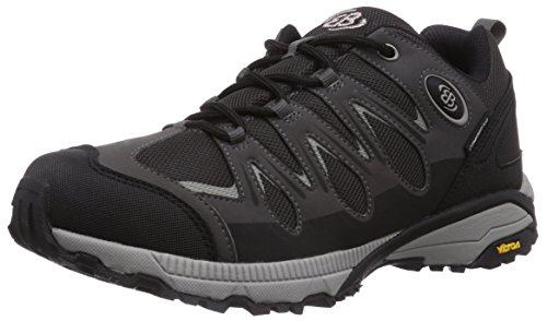 Brütting Expedition Walkingschuhe Unisex, Schwarz/ Grau, 45 EU