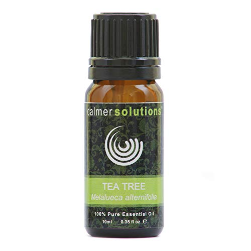 Calmer Solutions Tea Tree 100% Pure Essential Aromatherapy Oil 10ml