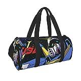 機動戦士ガンダム (1) スポーツバッグ ジムバッグ 旅行バッグ メンズ レディース 収納靴袋付き 大容量 撥水 軽量 多機能 乾湿分離 シューズ収納 男女兼用