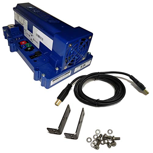Alltrax Controller - EZGO Controller (ITS Throttle) : SR-48400 (SERIES Carts ONLY) : 400 Amp for 36 & 48 V, Stock Speed & 20% More Torque - FREE Programming Cable & Solenoid Brackets Included