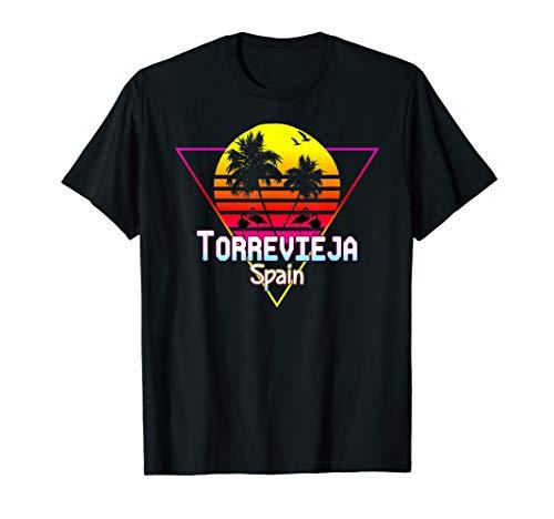 Retro Vintage Torrevieja Spanien salinen tshirt T-Shirt