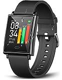 Winisok Smartwatch Fitness Armband, Fitness Uhr mit Blutdruckmessung Pulsmesser IP68 Wasserdicht...