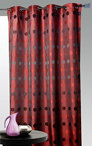 HomeMaison Vorhang, Jacquard 140 x 260 cm Taupe