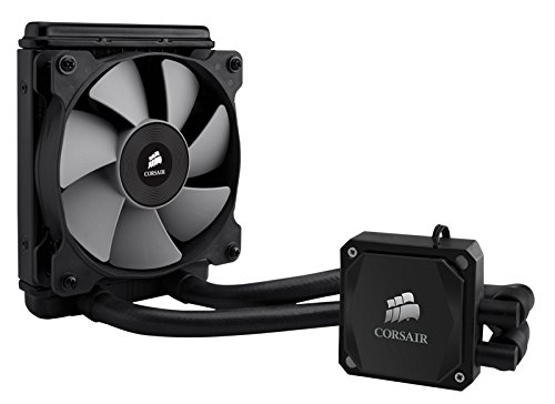CORSAIR Hydro Series H60 AIO Liquid CPU Cooler, 120mm Radiator, 120mm...