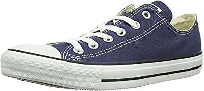 Converse Women's Chuck Taylor All Star Low Top (11.5 B(M) US, Navy)