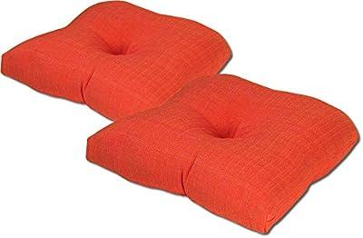 Amazon.com: Tempo Cojín de asiento, colores sólidos suaves ...