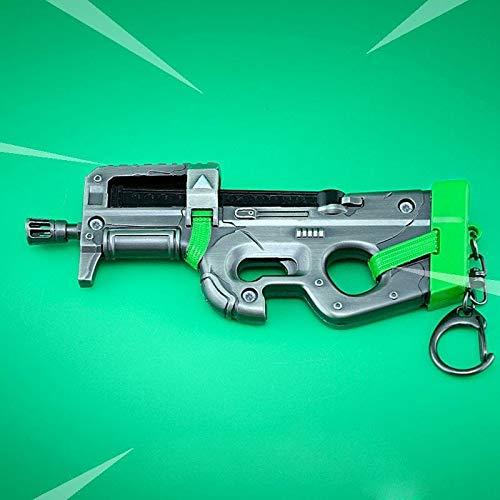 B-Creative Model Sleutelhangers sleutelhangers geïnspireerd wapen sleutelhangers (Compact SMG Large)