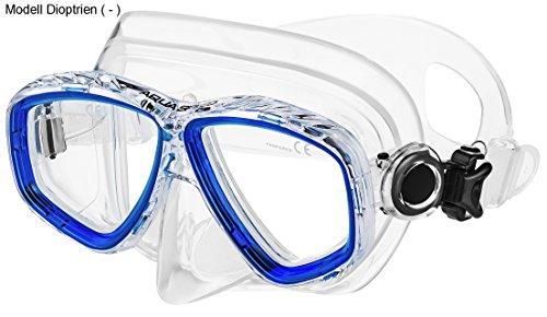 Aqua Speed - Optic PRO Taucherbrille mit Sehstärke/Dioptrien Rechts/Links individuell von +1,75; +2,25; +2,75 und -1,5 bis -8,0 | Tauchmaske | Schnorchelmaske | 11