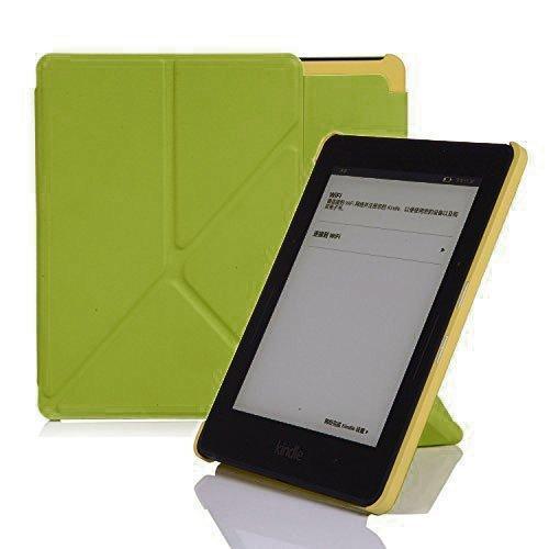 Nouske Origami Stand Caso Cubierta magnética cubierta función funda de piel estilo libro para Amazon Todos los Nuevos Kindle Paperwhite Voyage 2012201320142015