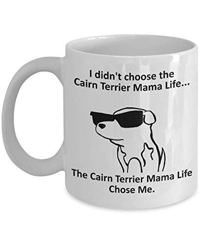 Tazza Magica Tazza da caffè Cairn Terrier Mama Tazza con Frase e Disegno Divertente Migliore Tazza In Ceramica Idee Regali Originali