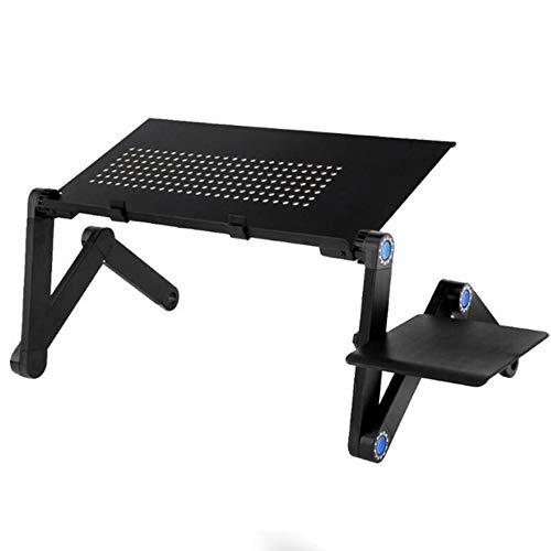 K KLACK PriceQuality Mesa Multifuncional Soporte para portátil diseño ergonómico Plegable Ajustable Escritorio para...