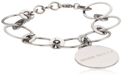 Miss Sixty Women's Bracelet Stainless Steel Silver SMZM04 Divine