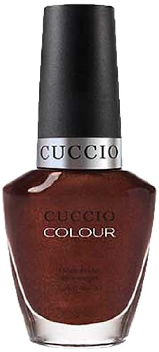 タイムリーな規制シュートCuccio Colour Gloss Lacquer - It's No Istanbul - 0.43oz / 13ml