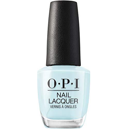 OPI Nail Lacquer, Mexico City Move-mint, Blue Nail Polish, Mexico City Collection, 0.5 fl oz