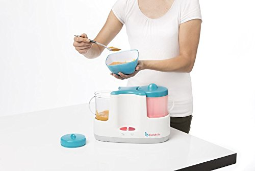 Badabulle Baby Station 4-in-1 Babynahrungszubereiter, Dampfgaren, Mixen, Erwärmen von Fläschchen und Babybrei, Auftauen - 5