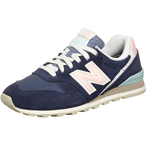 New Balance Wl996coj_36,5, Zapatillas para Mujer, Navy, 36.5 EU