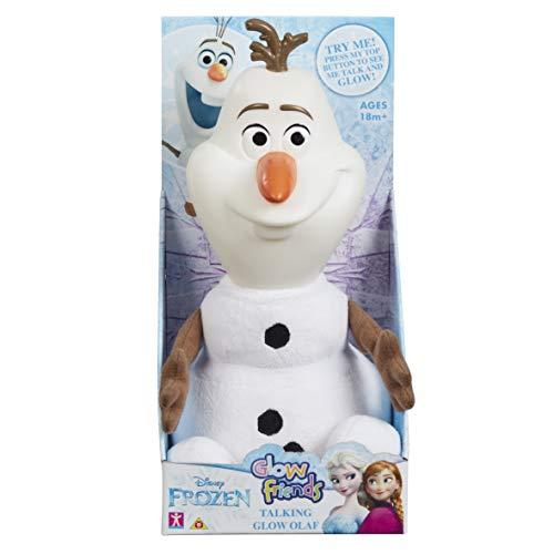 Disney 7021 Glow Friends sprechen Olaf, weiß