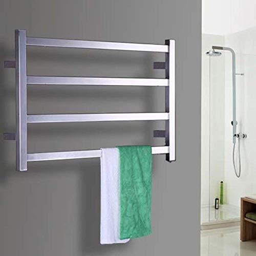 Wlylyhjy Smart-Handtuchhalter, Edelstahl Elektrische Handtuchhalter, Elektrischer Trockenhandtuchhalter Für Hotel Haushalt Und Bad, Verborgen