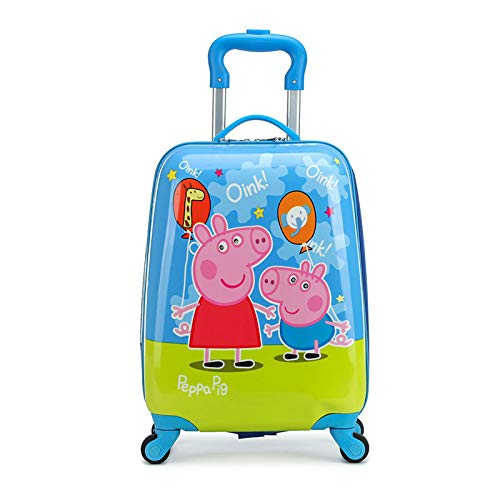 Children's Trolley Pattern School Bag U Balloon Pig