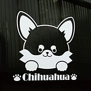 ペットステッカー 車用ステッカー 名入れステッカー 選べる犬種デザイン ホワイト シルバー W15cm x H15cm(デザイン:A02_しばいぬ)犬 猫 かわいい おしゃれ DOG IN CA0R ドッグインカー わんこが乗っています 贈り物...