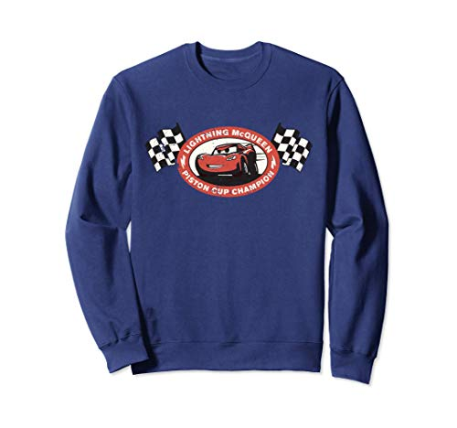 Disney Pixar Lightning McQueen Piston Cup Champion Sudadera