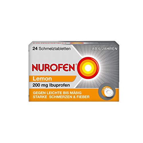 Nurofen 200 mg Schmelztabletten Lemon, 24 St. Tabletten