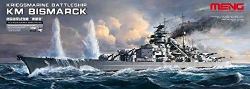 MENG- Maqueta de la Marina de Guerra Battleship KM Bismarck (PS-003)