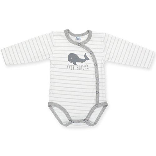 Pinokio - Body - para bebé niño Blanco Gris 52