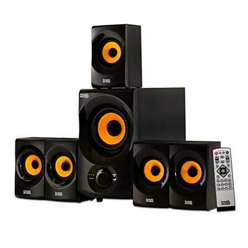 Price comparison product image Acoustic Audio AA5170 Home Theater 5.1 Bluetooth Speaker System 700W with Powered Sub