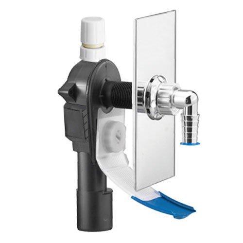 Unterputz-Geräte-Siphon OHA 4400 mit Wasserrutsche und Rohrbelüfter