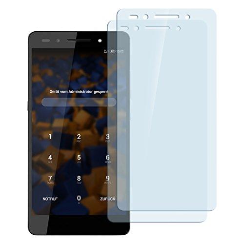 mumbi Hart Glas Folie kompatibel mit Huawei Honor 7/7 Premium Panzerfolie, Schutzfolie Schutzglas(2X)