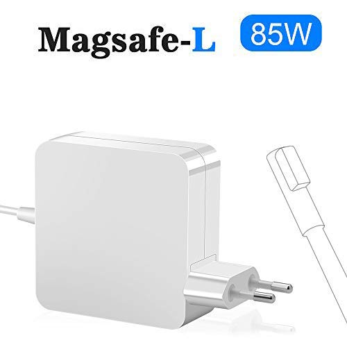 Rocketek MacBook Pro Charger 85W, Compatible con 85W Magsafe L-Tip Adaptador de Corriente Cargador para MacBook Pro 13