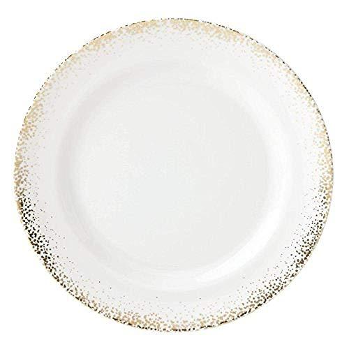 Geschirr Teller Passion Bloom Keramikschale White @ Dinner Teller Keramik Geschirr
