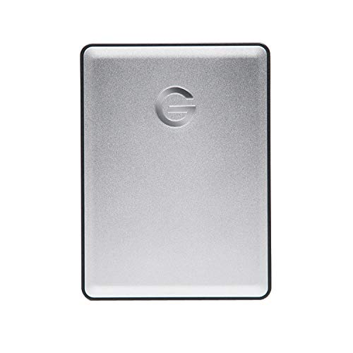 G-Technology G-Drive Mobile 1 TB Tragbare Festtplatte (mobile Festplatte, elegantes Aluminiumgehäuse, USB-C-fähig, USB-Plug-and-Play Konnektivität, mit Apple Time Machine kompatibel)