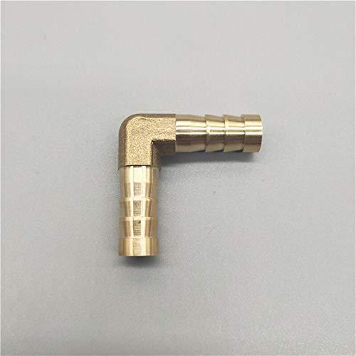 Lcuilin-Montaje de tuberías de Hardware Pagoda Brass Barb de Tubo roscado, 2 3 4 Way Brass Connector, 4 mm 5 mm 6 mm 8 mm 10 mm 12 mm 16 mm 19 mm Manguera de Cobre Fittings, Duradero