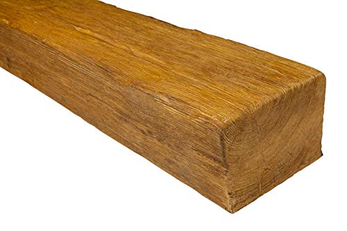 2 metros | Viga | Poliuretano | Aspecto de madera | Deco Wood | 190 x 130 mm | ED105.H