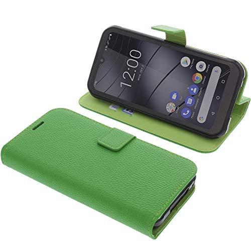 foto-kontor Tasche für Gigaset GX290 / GX290 Plus Book Style grün Schutz Hülle Buch