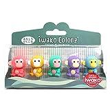 Iwako ColorZ Panda Puzzle Eraser