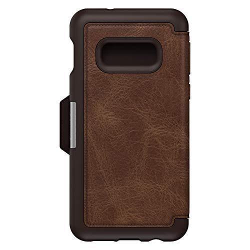OtterBox Strada Etui Folio en cuir véritable pour Samsung Galaxy S10e Marron