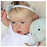 YANRU Silicona Suave Renacida - 22 Pulgadas 55 Cm MuñEca Renacida NiñO - como Un Bebe De Verdad Baby Born, Gift Set For Children