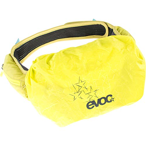 evoc RAINCOVER Sleeve Funda Impermeable para el Hip Pack, Unisex Adulto, Amarillo azufre, Medium