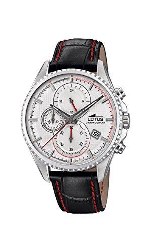 Lotus Watches Reloj Cronógrafo para Hombre de Cuarzo con Correa en Cuero 18527/1