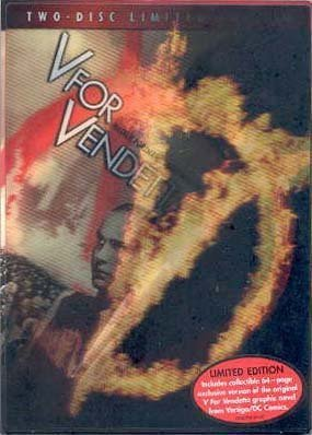 V for Vendetta (Two-Disc Limited Edition w/ Lenticular Cover and Comic Book) by Warner Home Video