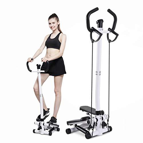 YHSPORT Fuß Stepper Mit Zugseil Mini Stepper Übung Training Fitness Treppe Schritte Pedal Fitness Fett Verlieren Mit LED-Funktionsanzeige Einstellbarer Druck