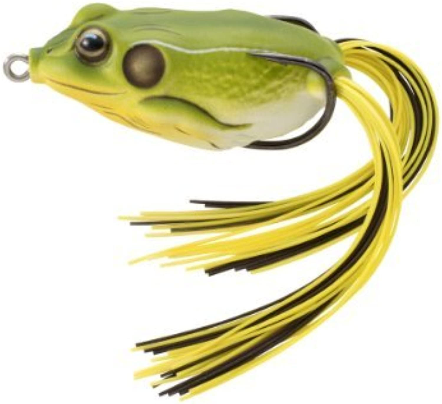 Koppers Floating Frog Hollow Body Lure, 25 8Inch, 3 4Ounce, Bright Green by Unknown